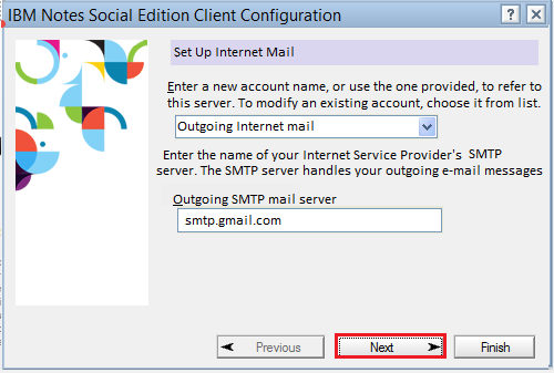 Configure Gmail Account in Lotus Notes and Sync Emails